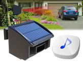 Sistema de alarma de calzada solar 1/4 milla de largo alcance al aire libre Detector de movimiento Sensor