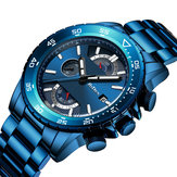 BIDEN 0150 Chronograph Date Display Quartz Watch