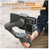 CQT OSMO Mibile 3 OM4 Accessories Gimbal Adapter Camera Mount for GoPro 5/6/7 OSMO Action CAM