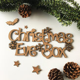 Personalised Laser Cut Engraved Wooden Topper Decorations Gifts Tag