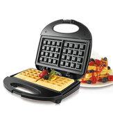 220V 750W 3 in 1 Waffle Sandwich Maker Panini BBQ Grilling Machine Maker colazione