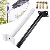 LEDの太陽街灯のための40CMの黒く白い屋外の適用範囲が広い街灯柱