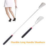 Telescopic Long Handle Stainless Steel Shoehorn The Elderly Shoes Sneakers Shoe Horn