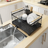 Stainless Steel Sink Dish Drying Rack Dish Cup Drainer Rack Kitchen Storage Shelf Rack Organizer Holder Drainer Shelf