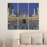 Miico El Boyalı Üç Kombinasyon Dekoratif Tablolar İslam Dini Duvar Sanatı Ev Dekorasyon Için