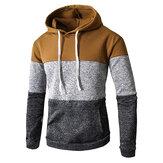 Casual sweatshirt met capuchon met capuchon voor heren