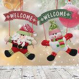Regalo di natale della decorazione della casa dell'albero dell'ornamento dell'ornamento del pupazzo di neve del Babbo Natale
