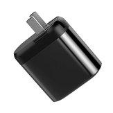 Vissko 18W QC3.0 PD Type C Dual Digital hurtigopladning USB-opladeradapter til iPhone XS 11 Pro Huawei P30 Pro Mate 30 Mi9 9Pro Oneplus 6T 7 Pro