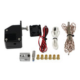 Dual Gear NF All Metal BMG Extruder Bowden Dual Drive V6 Extruder Kit for Prusa I3 3D Printer
