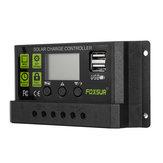 10/20/30A 12V/24V Solar Controller Auto-Adaptive LCD Display PWM Solar Charge Controller Solar Panel Charge Controller
