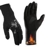 Bakeey Light All Finger Touchscreen Handschoenen Winddicht Anti-slip Winter Dikte Warm Outdoor Motorfiets Fietsen Rijden Touchscreen Handschoen