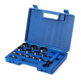 14pcs 5mm to 35mm Heavy Duty Leather Rubber Hollow Punches Set Hole Punch Tools