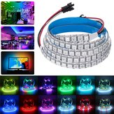 DC5V 2M 288LED WS2812B 5050SMD Built-In IC Non-Waterproof RGB LED Strip Light KTV Hotel Bar Home Stair