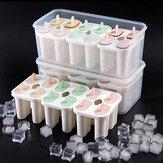 Baby Kids Family Многоразовые Замороженные Ice Mold Домашнее DIY Мороженое Йогурт Фруктовый сок с крышками Замок