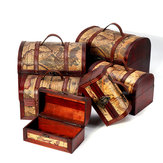 Pirate Treasure Jewelry Chest Trinket Keepsake Box Storage Organizer Gift Case