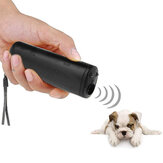 3 In 1 Anti Barking Dur Bark Ultrasonik Pet Köpek Kovucu Eğitim Cihazı Pet Eğitmeni Ile LED