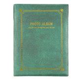 8 İnç Fotoğraf Albümü 100 Levhalar DIY Resim Depolama Kitap Bellek Tutucu Karalama Defteri Retro