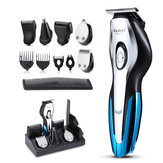 11 in 1 Electric Hair Clipper Shaver Razor Trimmer USB Rechargeable Hair Trimming Machine with 4 Limited Combs