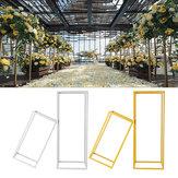 Flower Rack Wedding Metal Art geometrische kolom vaas Stand Prop partij afneembaar