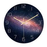 Loskii CC021 Kreative Sternenmuster Wanduhr Stumm Wanduhr Quarz Wanduhr Für Home Office Dekorationen