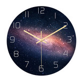 Loskii CC021 Creative Starry Pattern Wall Clock Mute Wall Clock Quartz Wall Clock For Home Office Decorations