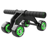 KALOAD 4 Wheel ABS Roller Wheel Sport Fitness Gym Oefening Stretch Wasit Buikwiel Rooler