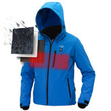 TENGOO IP64 USB Electric Heated Coats Intelligent Down Jacket Waterproof Rainproof Jacket