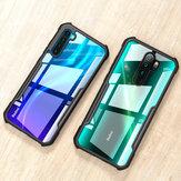 Dla Xiaomi Redmi Note 8 Obudowa Bakeey Armor Zderzak Krawędź Przezroczysty akryl + Soft TPU Edge Protective Case