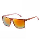 Moda de condução Óculos óculos de sol com armação quadrada retrô