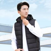 [FROM XIAOMI YOUPIN] PMA Men Graphene Heating Vest Winter Warmer Fat Burner Hot Sweat Vest Electric USB Power Supply Warm Heated