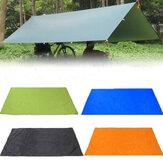 210x150cm Camping Picknick Pad Anit-UV Tent Tarp Regen Zonnescherm Hangmat Onderdak