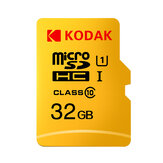 KODAK Micro SD Card TF Card U1 Classe 10 SDXC SDHC Memory Card 32G 64G 128G per archiviazione mobile video