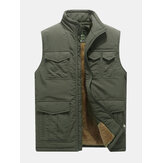 Gilet da uomo Mutil Pockets Outdoor Fleece Liner