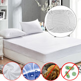 Anti Dust Mite Mattress Protector Cover Breathable Fitted Bed Sheet Waterproof Furniture Waterproof Cover