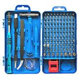 110 в 1 электрический прецизионный Отвертка набор для ремонта ПК компьютера телефон Инструмент