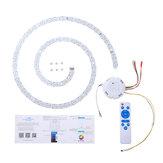 40W Bluetooth Painel de luz de teto LED Branco quente branco frio RGB AC90-245V com Controle Remoto