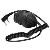 BAOFENG 8D82 Handmicrofoon Luidspreker Dubbele PTT-luidspreker Radio Walkie Talkie-accessoires