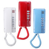 Wall Mount Home Corded Fixed Phone Landline Telephone Business Home Office Desktop Phone