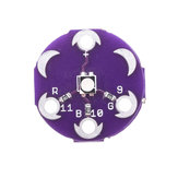 3pcs LilyPad Tri-Color LED RGB Module LilyPad LED Board Tri-color Module