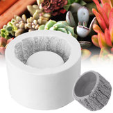 Bark Planter Silicone Concrete Mold Succulent Plant Flower Pot Vase Cement