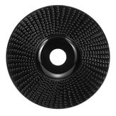 100mm Tungsten Carbide Wood Carving Disc Grinder Wheel Abrasive Disc Sanding Rotary Tool for Angle Grinder