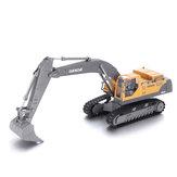ModelosdeveículosautomóveisQY23012.4G 1/28 8CH RC Excavator Car com som