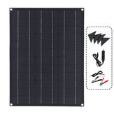ETFE 40W Flexible Solar Panel Module Kit Car Boat Charger Dual USB DC Controller