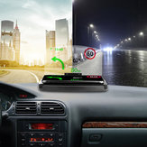 Bakeey Universal 10 W Carregamento Rápido Qi Carregador Sem Fio Espelho Para-brisa do Carro HUD Head Up Display Phone Holder Para Telefone abaixo de 6,5 polegadas para iPhone GPS DH42