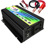 3000W Car Solar Power Inverter DC 12V to AC 110V 220V Dual USB Ports Modified Sine Wave Converter