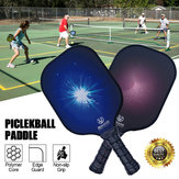 Lightweight Pickleball Set 2 Paddles Grip Carbon Fiber Polym