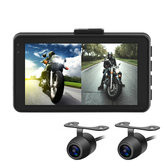 MT22 1080P+720P Motorcycle DVR Video Recorder Camera Dash Cam Full HD Front Rear View
