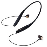 733 Card Cuffie stereo wireless da collo magnetiche da collo montate Orecchio Cuffie wireless Bluetooth