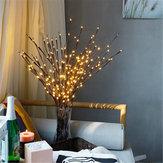 Dekoratif Dal Şube ile 20 LED Gece Işık Çiçek Etkisi Noel Boncuk Tatil Lamba için Ev