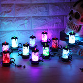 12Pcs Halloween Decoration Props LED Desk Lamp Table Decorations Halloween Party
